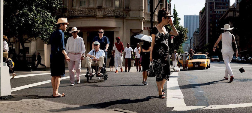 photo photos photographer photographers photography man woman street pedestrian pedestrians walker walkers car cars city building buildings sun sunny shadow bright walk walking wheelchair old senior men women