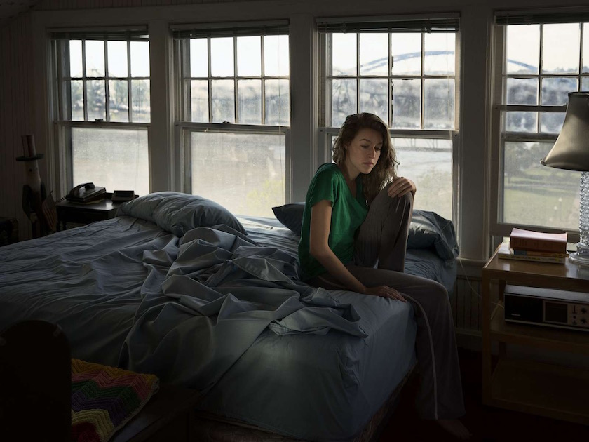 photo photos photographer photographers photography woman home bed sit sad sitting bedroom window