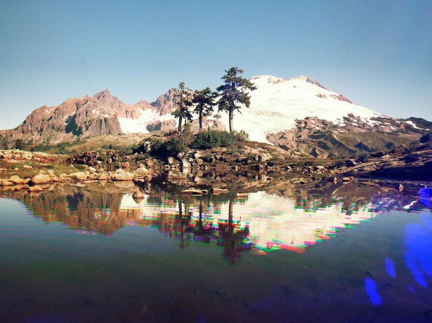 photo photos photographer photographers photography nature light coloreffect effect blurry forest layers reflection mountain hill snow tree trees sea water lake