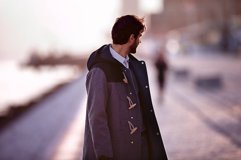photo photos photography photographer photographers young man jacket blurry profile beard