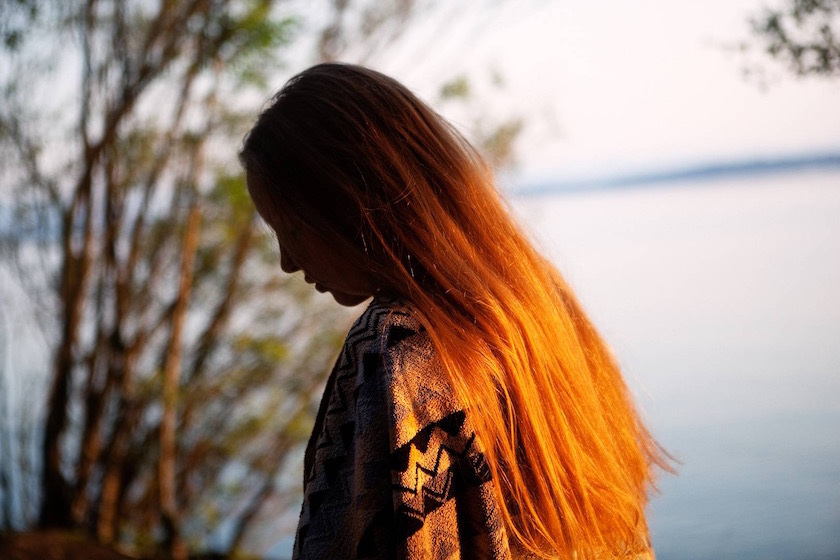 photo photos photography photographer photographers woman sun shadow lake blurry sea water sunset hair blond