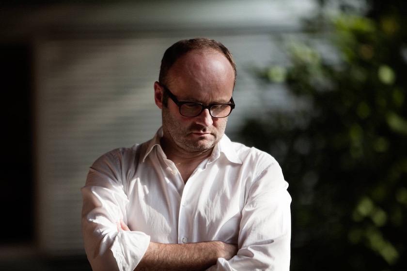 photo photos photography photographer photographers man mature glasses white shirt face head bald balding blurry