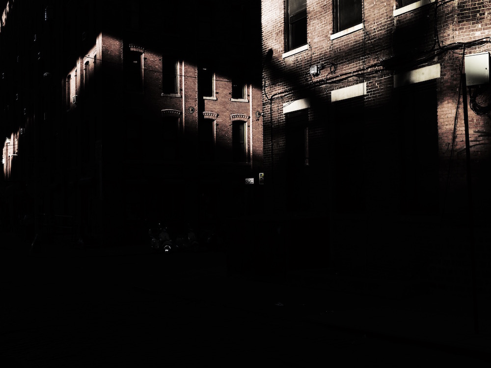 photographer photography photo dark black shadow city urban town building buildings window windows nyc