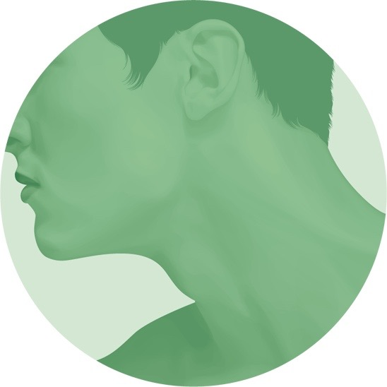 illustration, illustrations, illustrator, illustrators, vignette, closeup, head, heads, profile, side view, pose, posing, man, men, crop, cropped